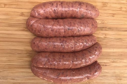 Thick Wagyu Beef & Caramelised Onion Sausages