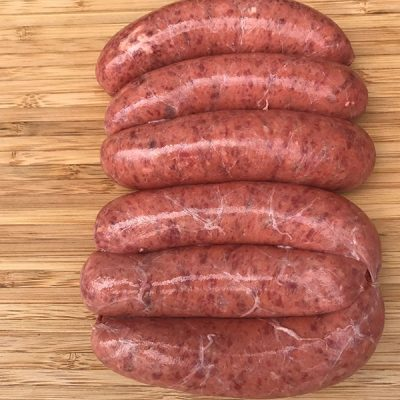 Thick Wagyu Beef Sausages Redlands Butcher Brisbane Markets