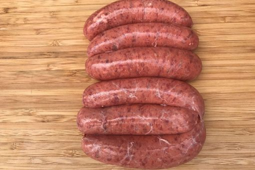 Thick Wagyu Beef Sausages Redlands Butcher Brisbane Markets