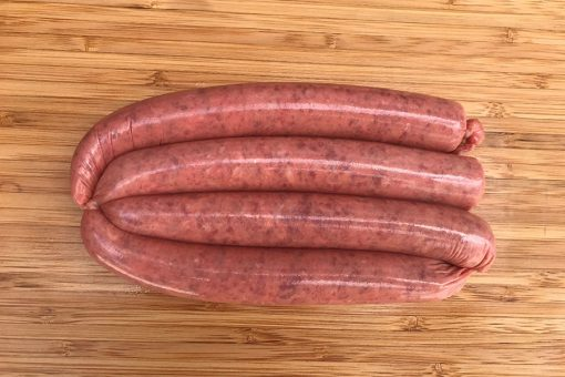 Thin Wagyu Beef Sausage Redlands Butcher Brisbane Markets