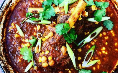 Curry Lamb Shanks